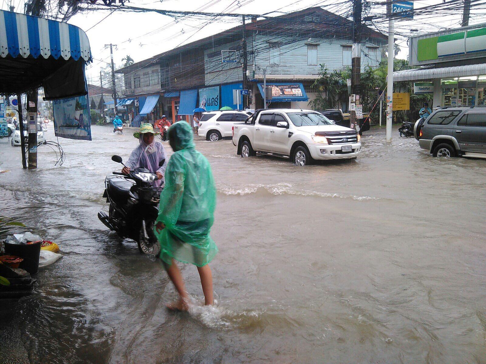 Наводнение на острове Самуи