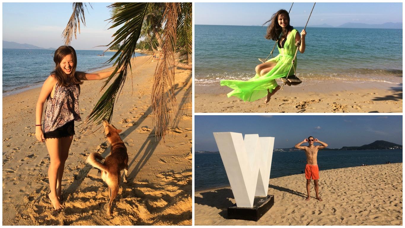Пляж Менам на Самуи